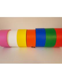Rubalise de signalisation oxobiodegradable couleur unie - 70mm*250m - 7 couleurs disponibles