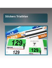 Sticker pour triathlon