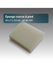 Eponge Sportif - 10x7x3.5cm - 500 pièces