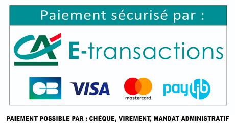 Mode de paiement disponible sur Dossard-personnalise.fr